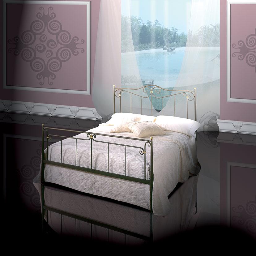 Dante letti in ferro battuto - Pediera del letto ...